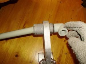 Монтаж пластиковых труб с помощью пайки
