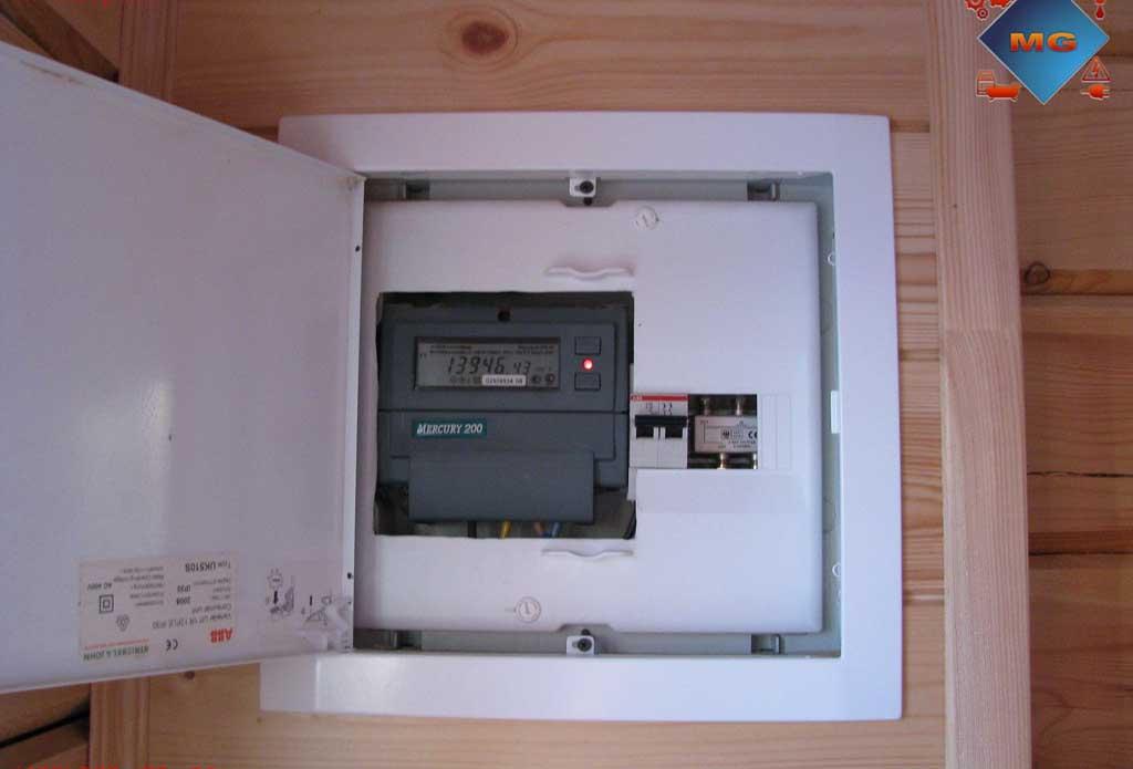 Установка электросчетчика своими руками фото