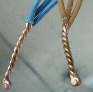 Паянное соединение проводов