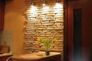 Декорирование части стены