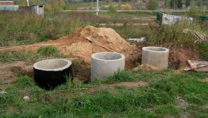 Монтаж автономной канализации на даче