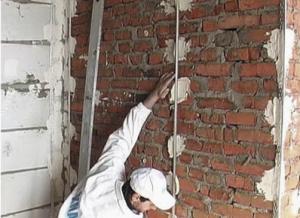 Ремонт кирпичной стены своими руками