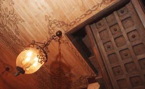 Самостоятельная роспись потолка