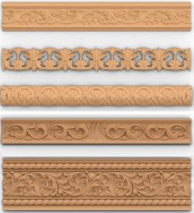Разновидности потолочного плинтуса