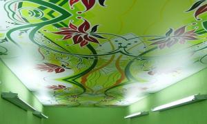 Немецкий тканевый натяжной потолок