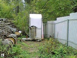 Конструкция на приусадебном участке