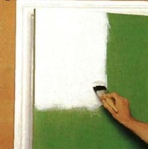 Растушевывание краски